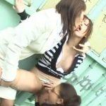 【青姦レズ動画】痴女なビアン強姦魔が嫌がるギャルお姉さんを野外で3Pレイプしクンニ責めで犯す!