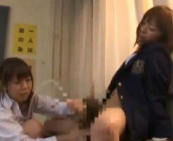 【ふたなりレズ動画】手コキやフェラチオに着衣SEXで次々と大量射精する幼い少女たち!