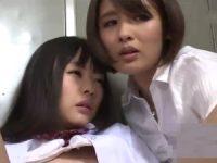 【レズ動画】レズビアン美人教師にレズの世界へ引きずり込まれる美少女