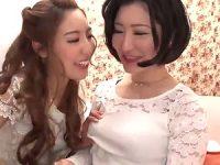 【レズ動画】色っぽ~いマダムのクチビルを…マ●コを…奪いまくる白百合嬢!!